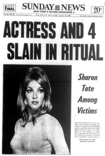 Sharon Tate - Sunday News