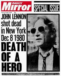 John Lennon Death - Mirror