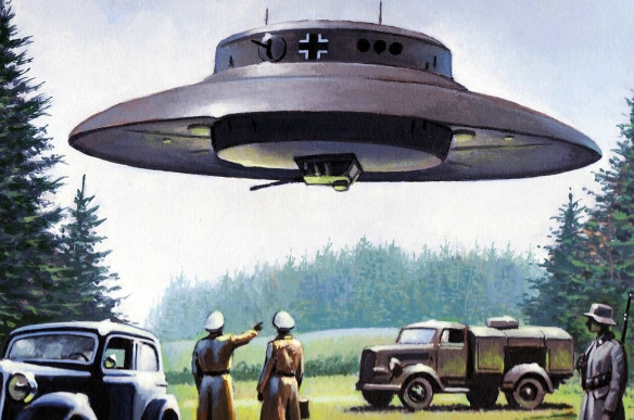 Thoughts of Nazi UFO Image Uhitler-ufo