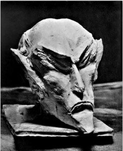 ahrimane28099s-head-carved-in-wood-by-rudolf-steiner