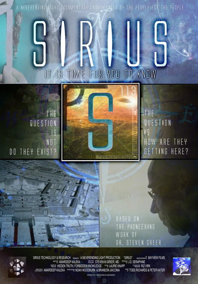 Greer's Greatest Emblem ( httpwww.disclosureproject.org ) Sirius Poster No Signature