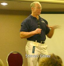 Greer's Greatest Picture of Greer ( httpsen.wikipedia.orgwikiSteven_M._Greer ) 220px-StevenGreer01