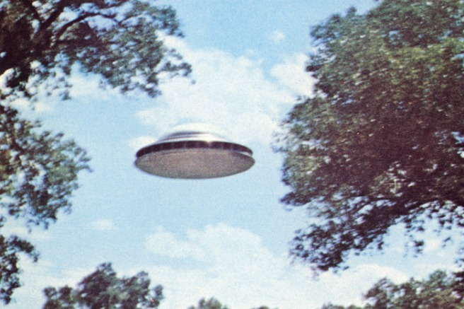 UFO Similar to Soldiers & Sailors UFO - Slant view