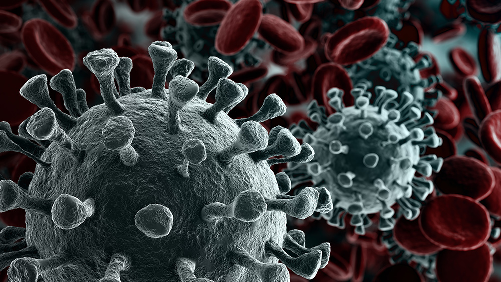 coronavirus-concept-virus-blood