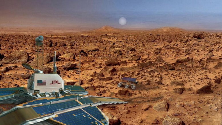 The Mars Pathfinder and Viking Missions to Mars – A Photo Comparison Mars-pathfinder-rendering-777x437-1