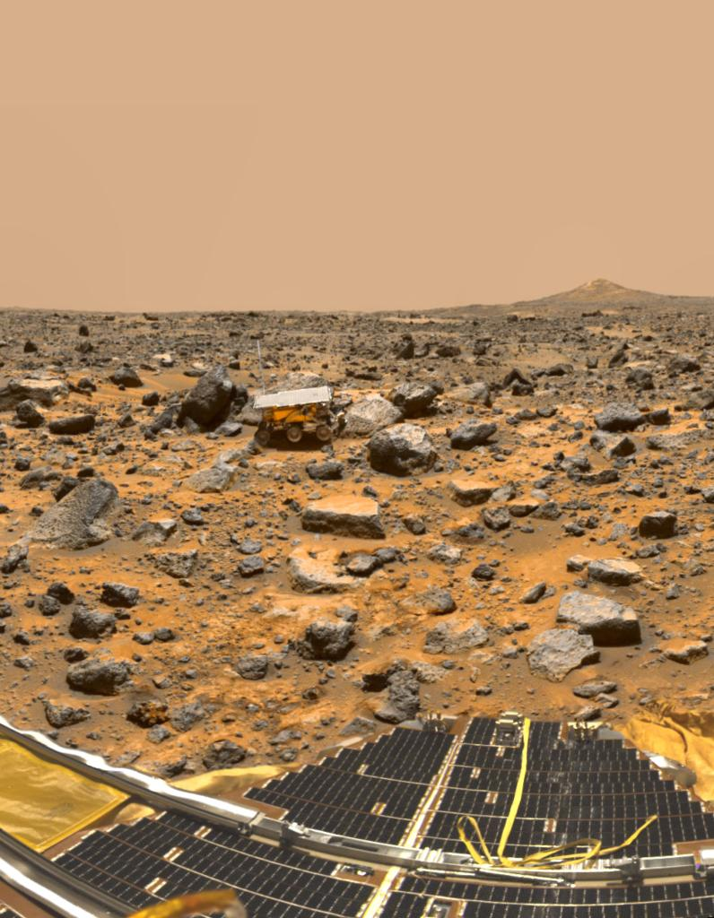 The Mars Pathfinder and Viking Missions to Mars – A Photo Comparison Pathfinder_1-full